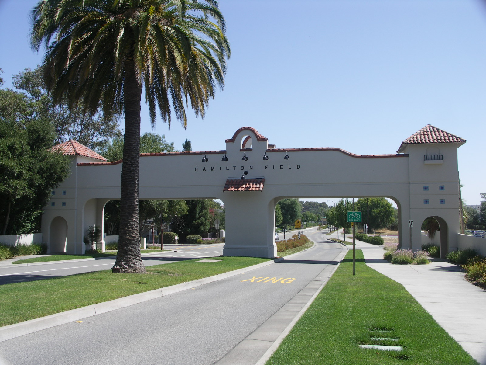 Hamilton Field Main Gate 2