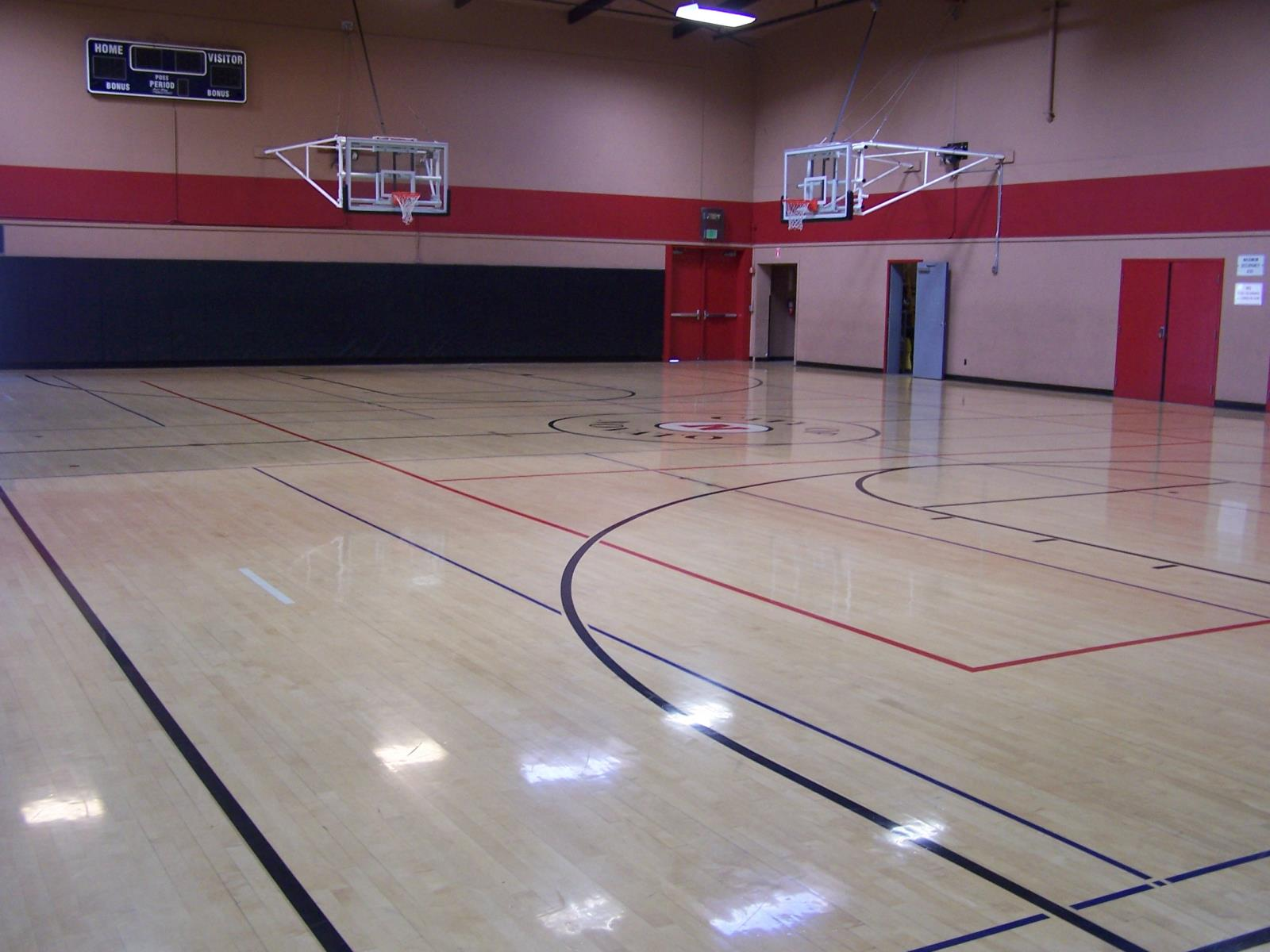Picture of Inside of Hill Gymnasium