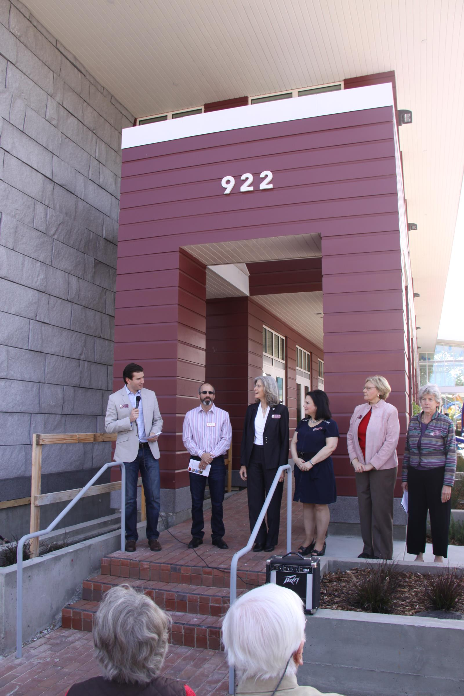 picture of City Office Dedication May 3 2014