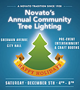 Novato's Annual Community Tree Lighting