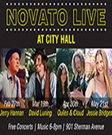 photo of Novato Live promo flyer