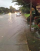 photo of street flooding