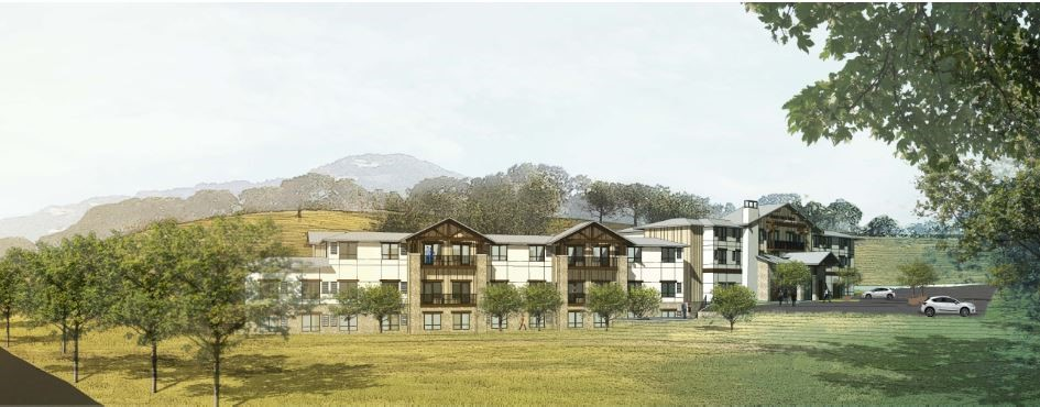 image of proposed Wood Hollow Hotel