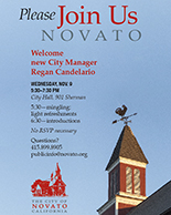 Image of City Manager Welcome Reception Invite