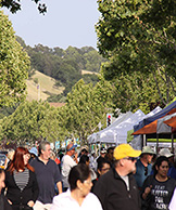 Photo of people at Novato Farmers Market