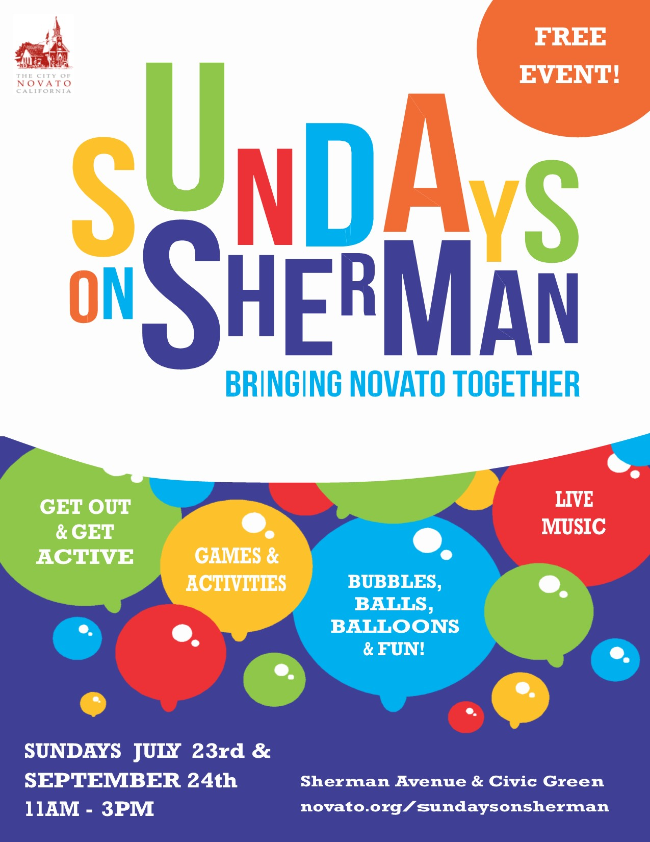 Sumdays on Sherman FLYER
