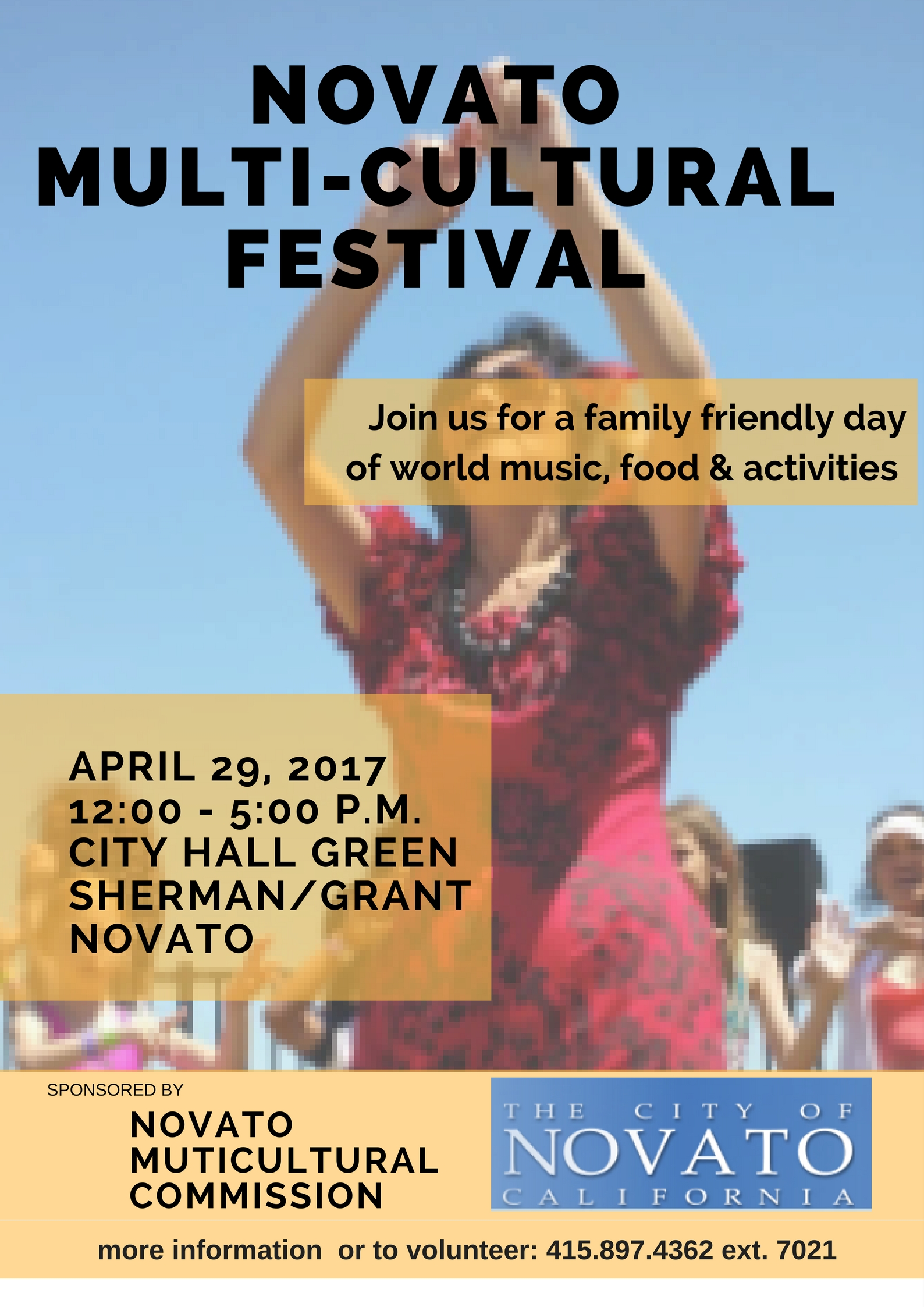 Image of Multicultural Advisory Commission Festival flyer