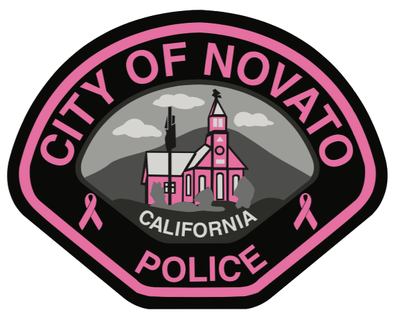Image of Novato Police Pink Patch
