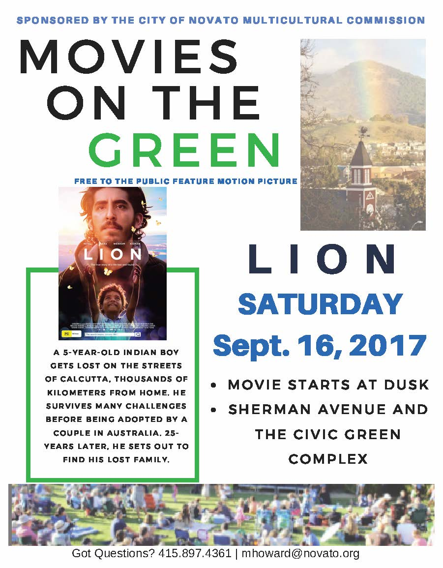 image of movies on the green flyer