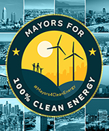 Image of Mayors for Clean Energy logo