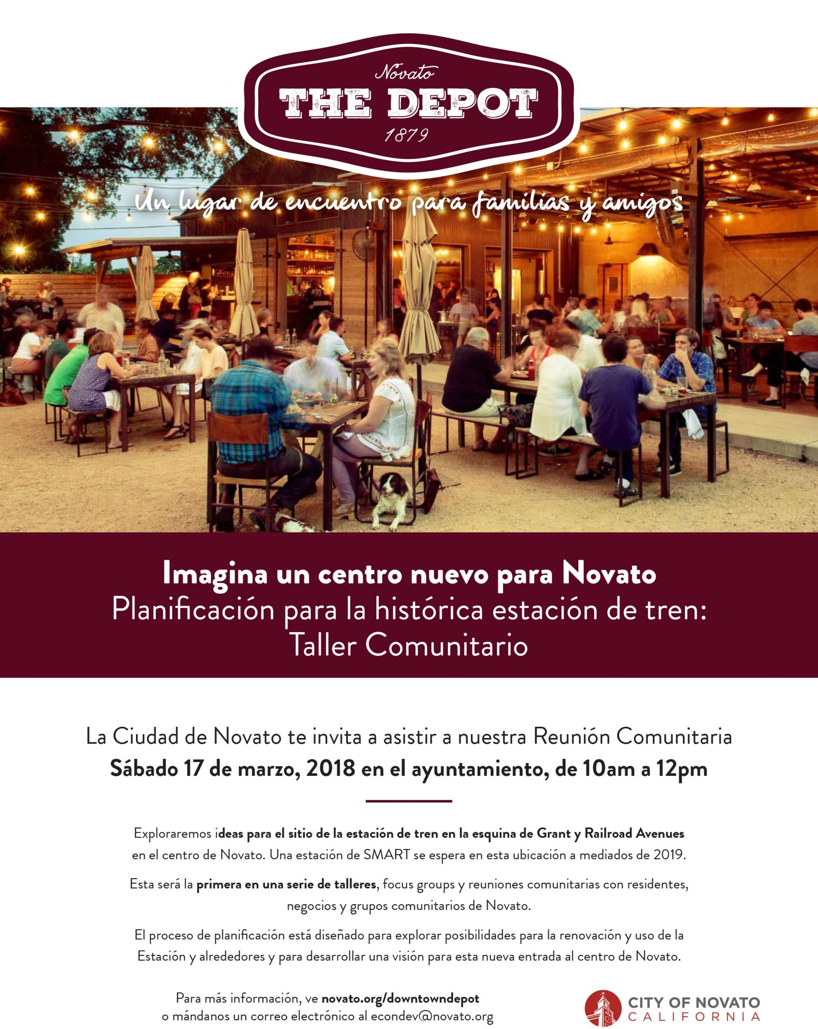 Image of depot flyer in spanish