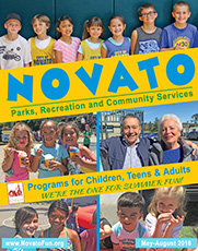 Novato Summer Guide Cover