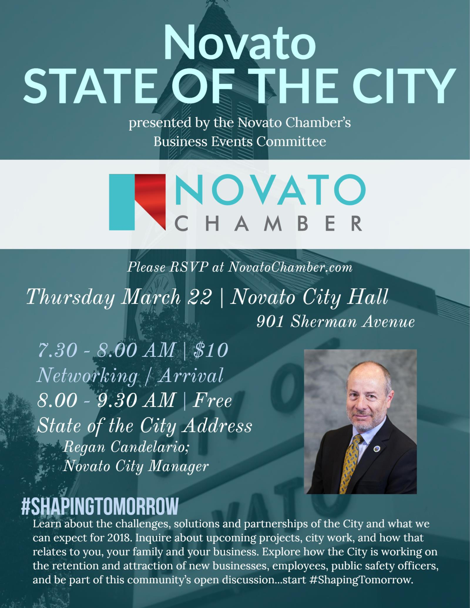 State of the City 2018 flyer