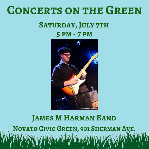 Concerts on the Green July 7th
