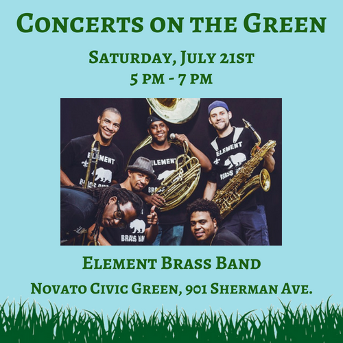 Concerts on the Green July 21st