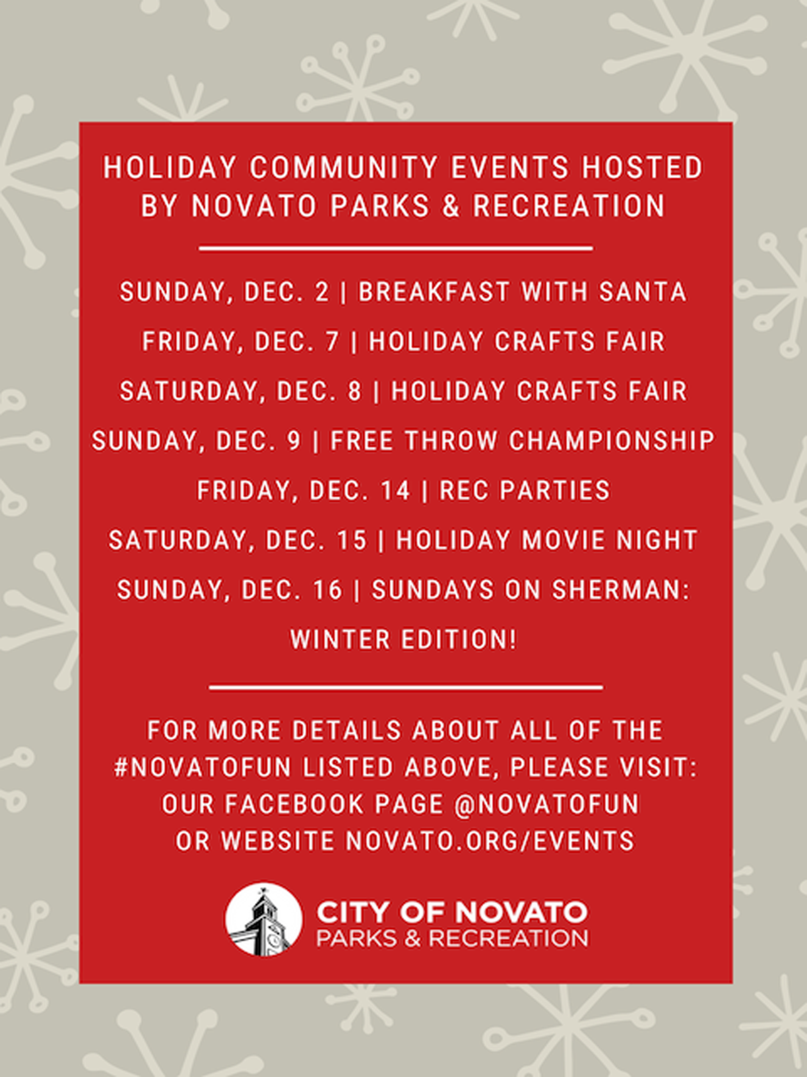 Holiday Poster Link to Event Details