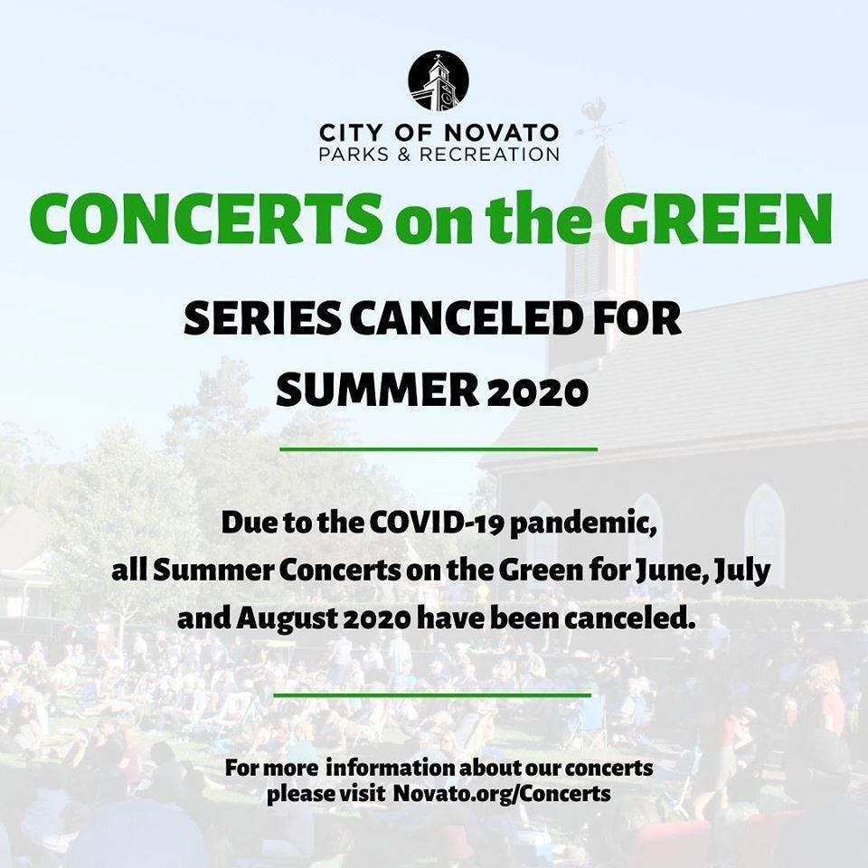 Summer Concerts Cancelled 2020