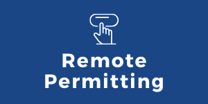 Button that links to Remote Permitting Information page