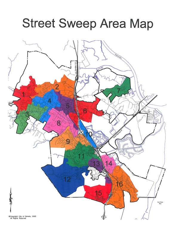 Street Sweep Area Map