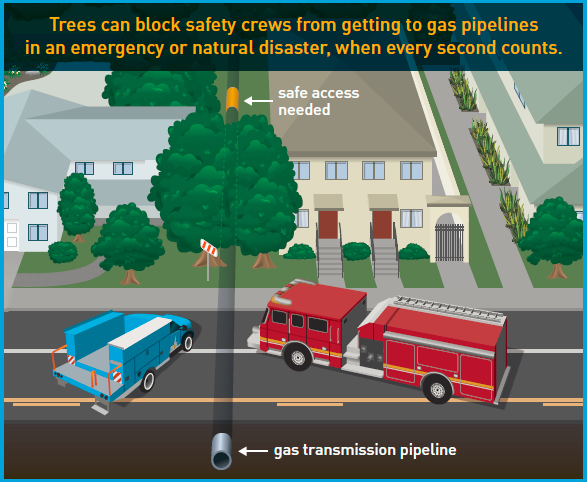 Photo of PGE gas safety