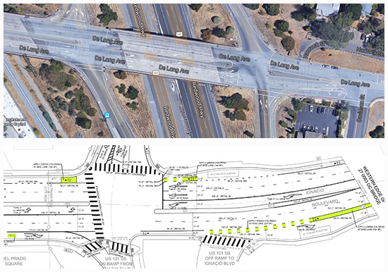 DeLong & Ignacio Interchange (Before)