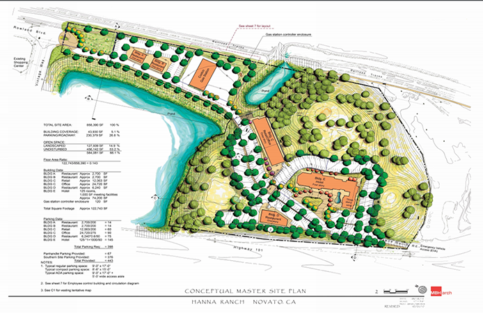 Image of conceptual site plan for Hanna Ranch project