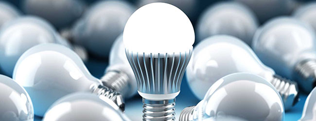 Image of LED lightbulbs