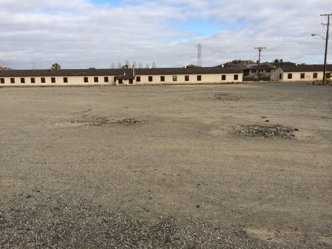 Photo of Commissary site at Hamilton