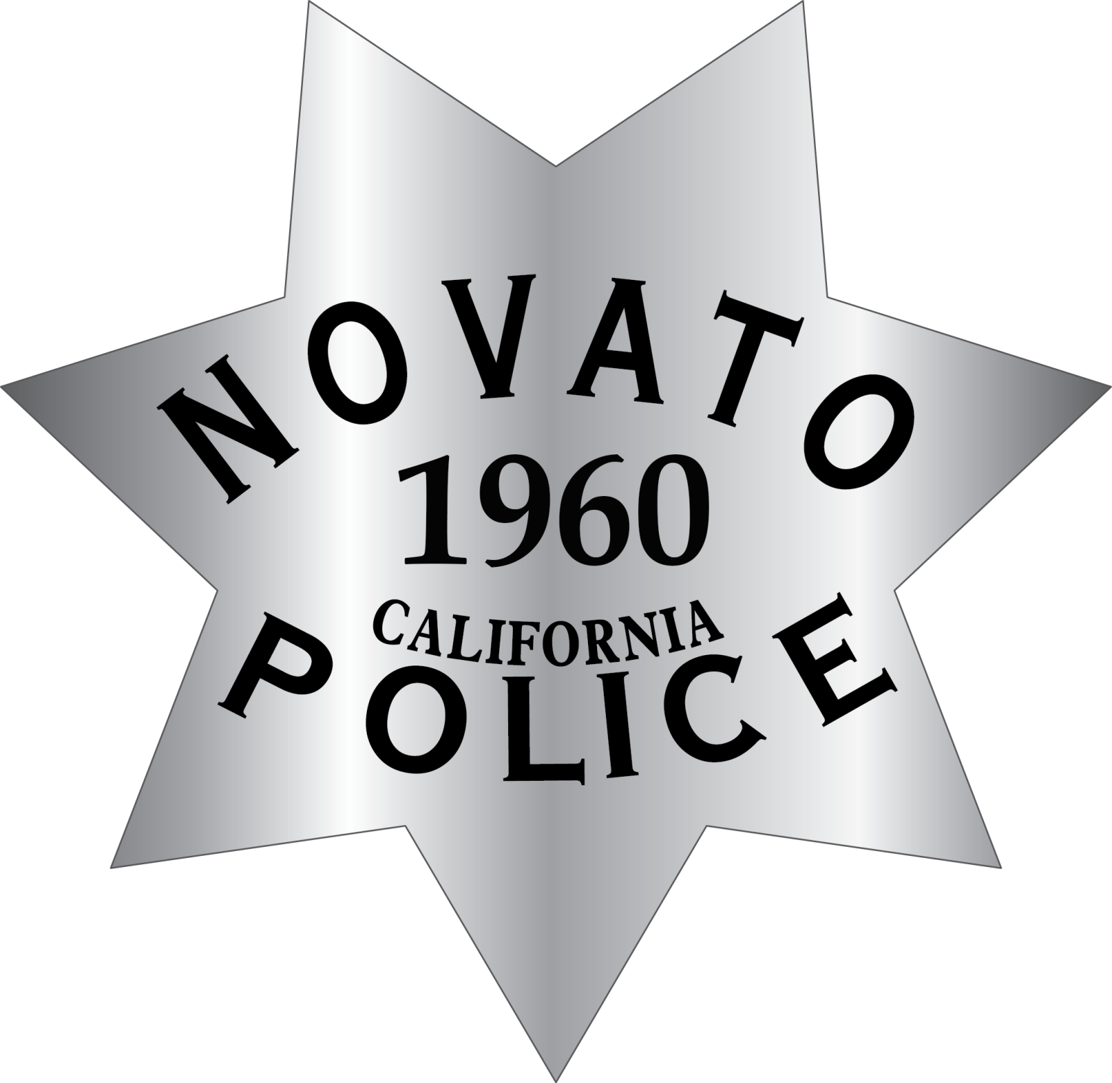 Novato Police Department Standard Badge