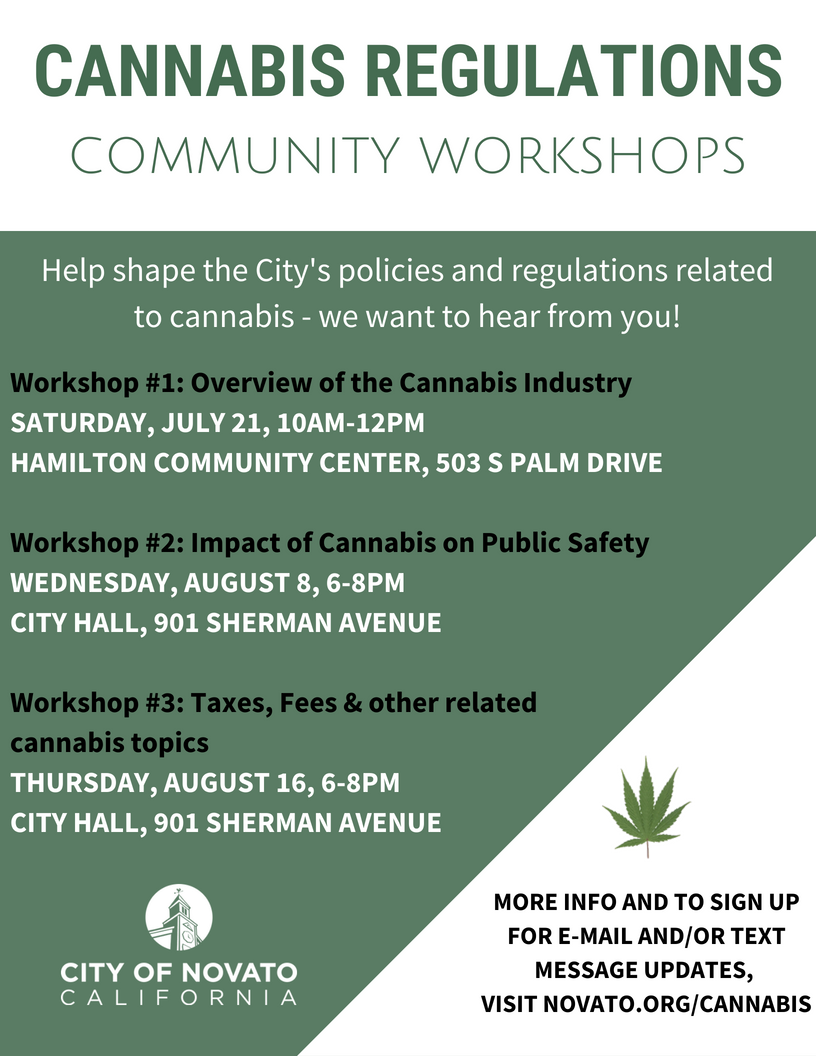 image of Cannabis Workshops flyer