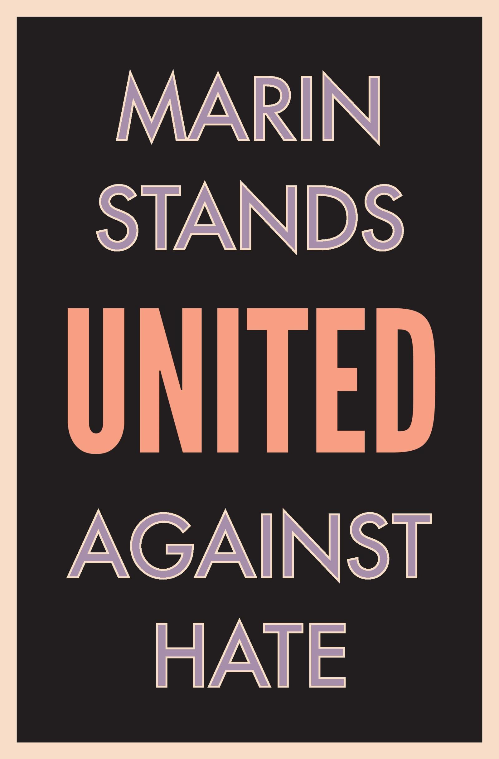 Marin United Against Hate Image