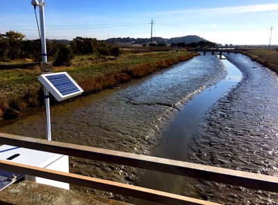 Tide Gauge at Rowland Way Bridge