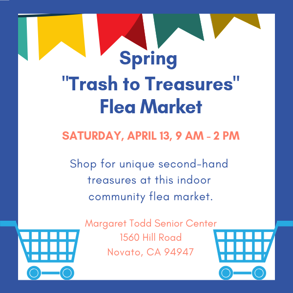 "2019 Spring ""Trash to Treasures"" Flea Market"