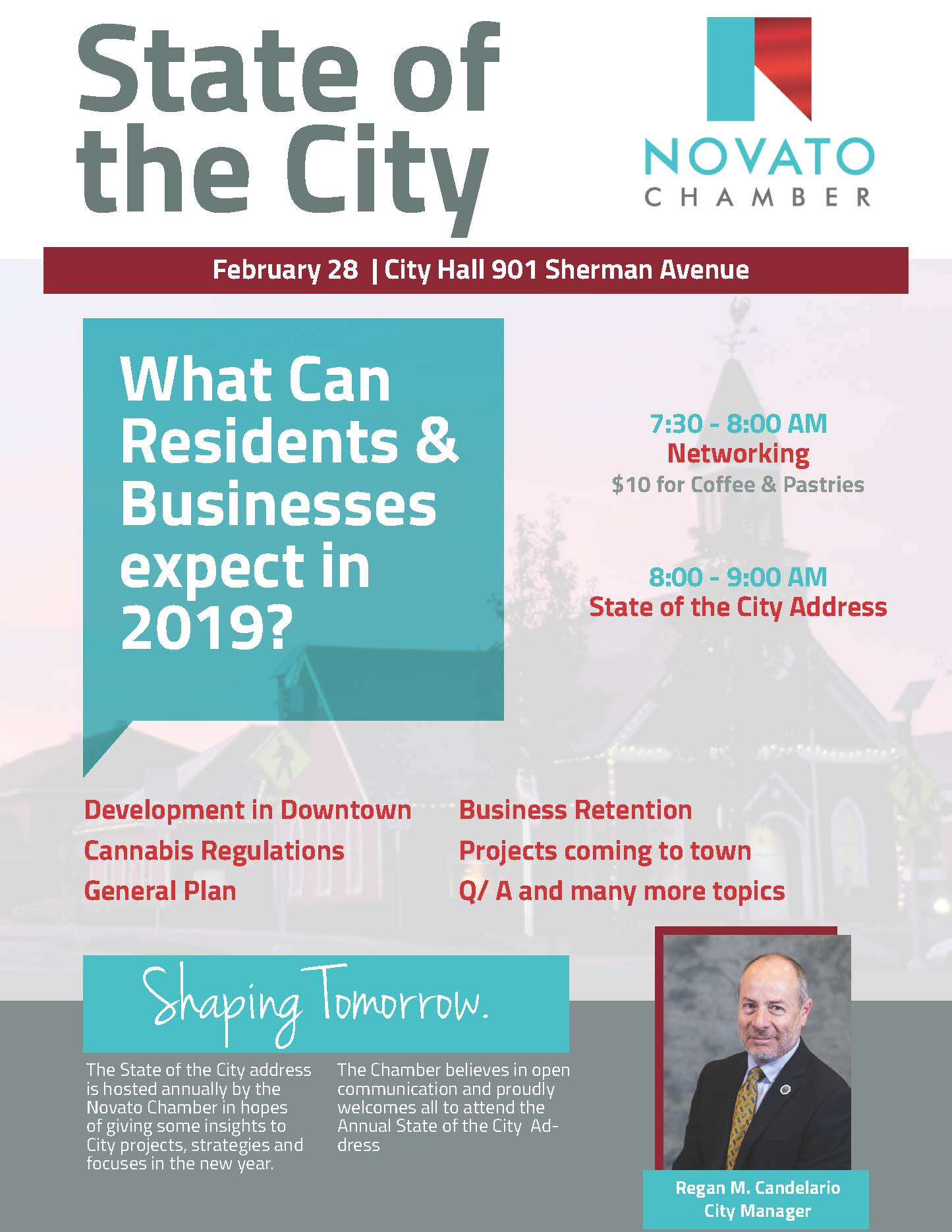 2019 State of the City Flyer