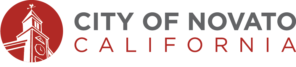 Red City of Novato Logo