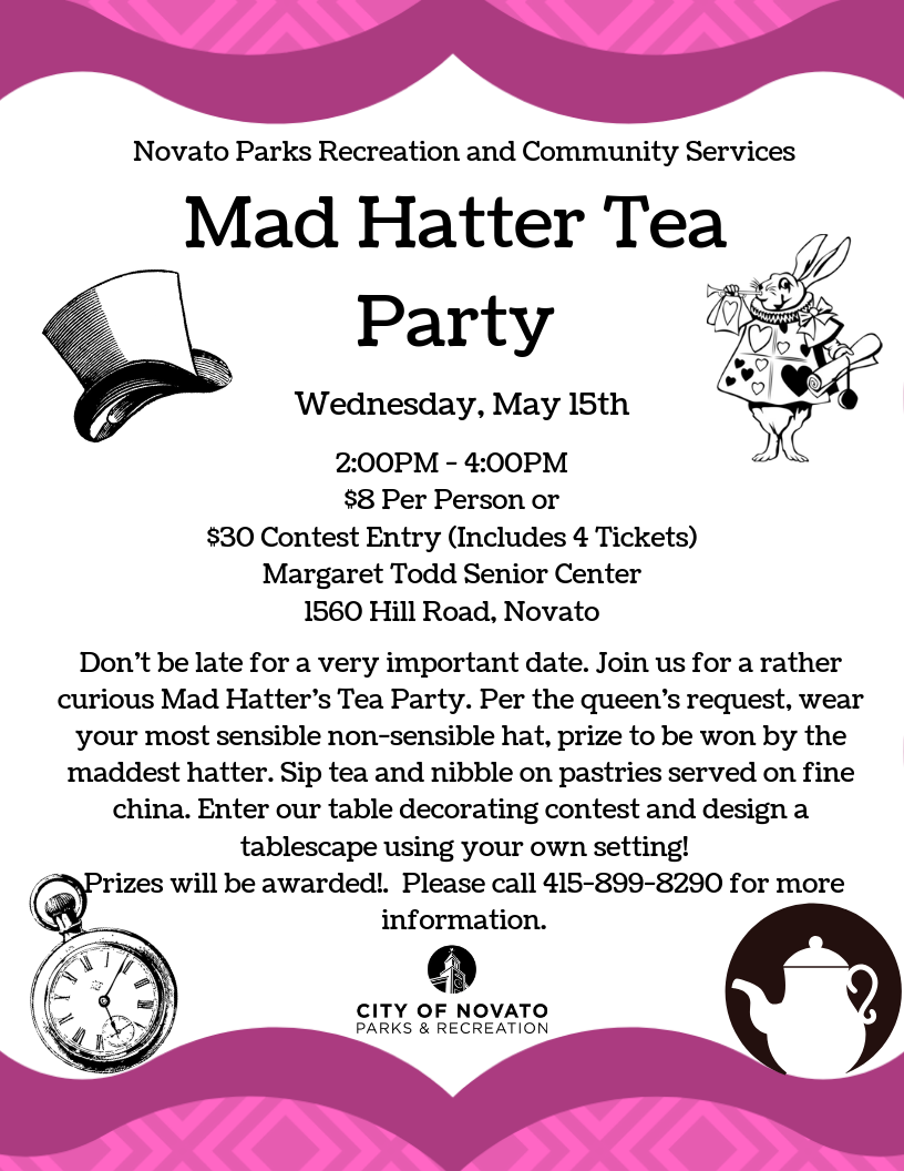 Tea Party Flyer