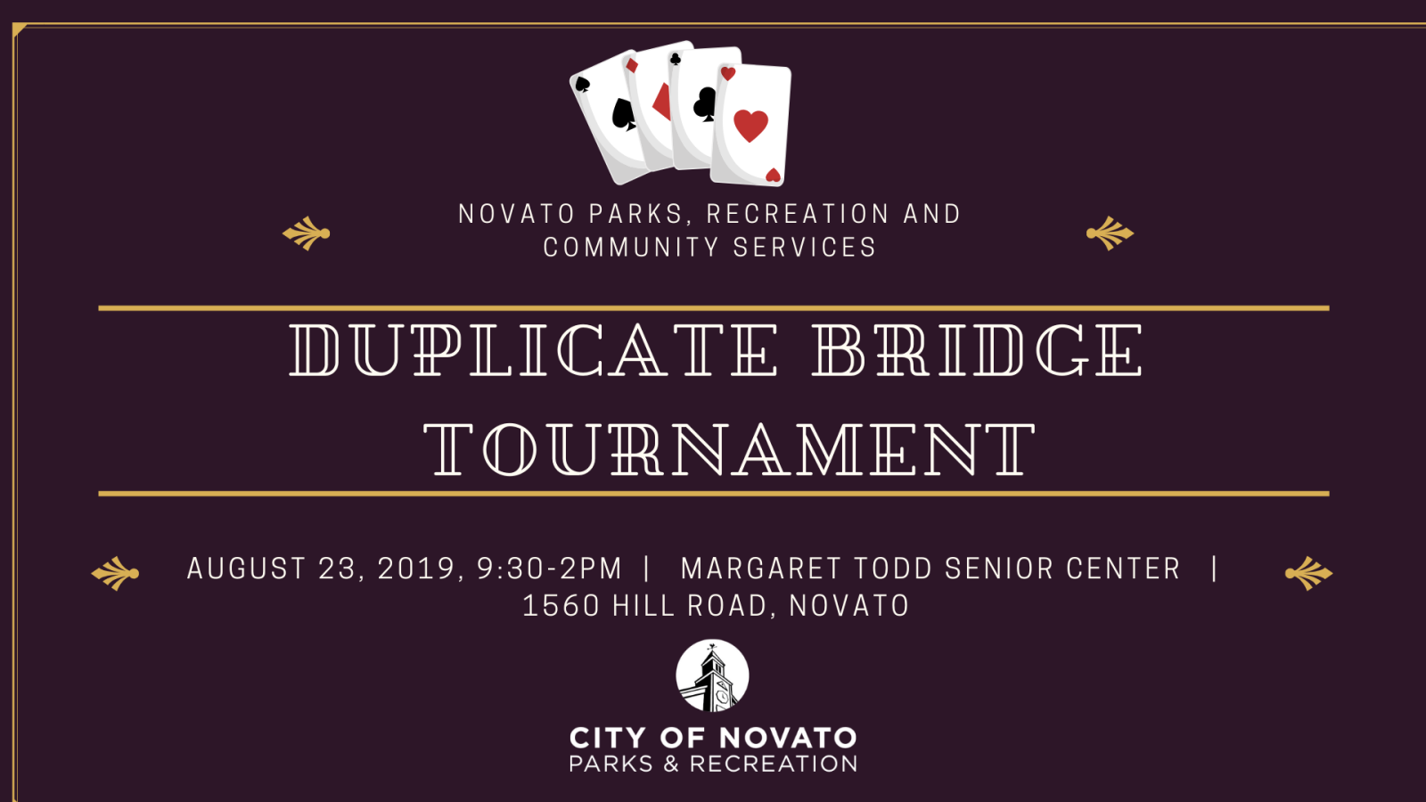 Duplicate Bridge Tournament Event Cover (1)