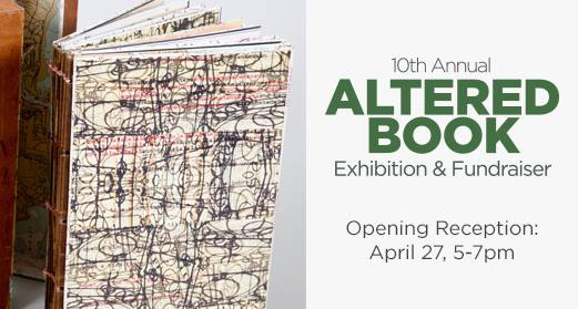 2019 Altered Books Poster