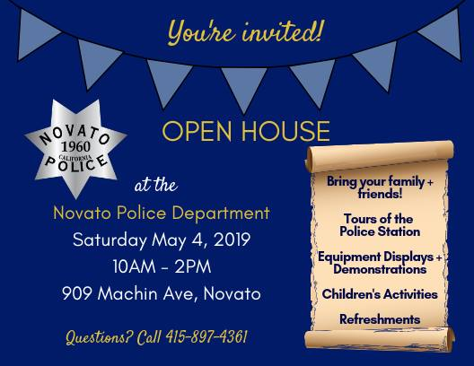 Novato PD Open House