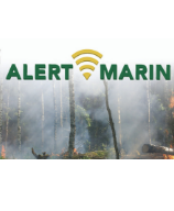 Image of Alert Marin Poster
