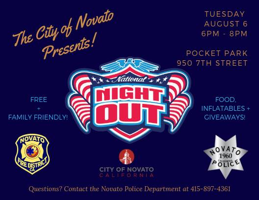 Image of National Night Out 2019 poster
