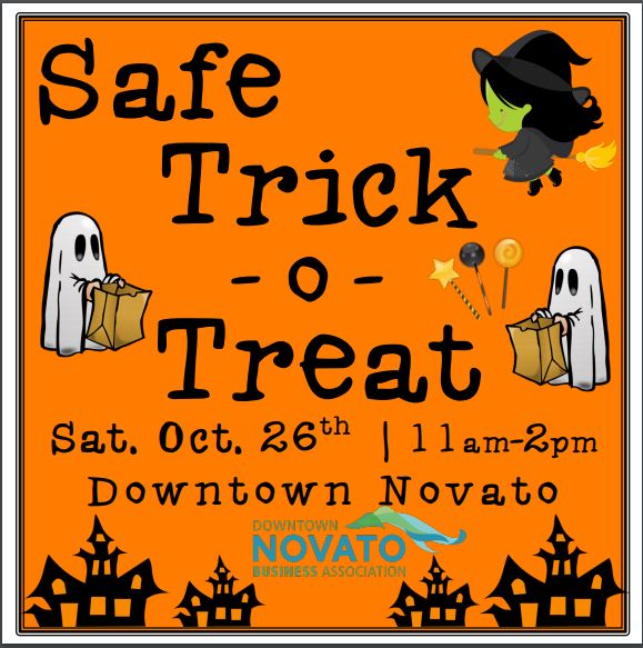 Image of Safe Trick or Treat poster