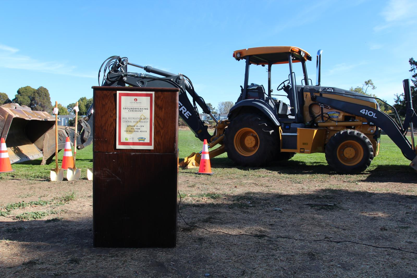 Photo of Hill Groundbreaking Ceremony