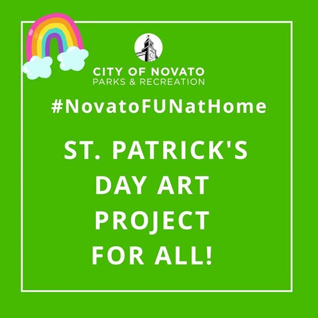 St Patricks Day Art Project NovatoFunAtHome