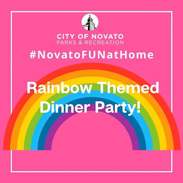 Rainbow Dinner novatofunathome