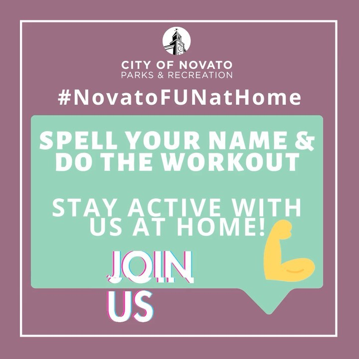 Spell Name Workout novatofunathome