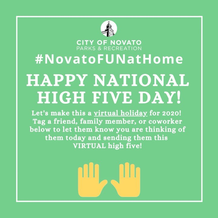 High Five Day novatofunathome
