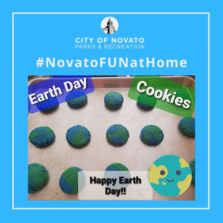 Earth Day Cookies novatofunathome
