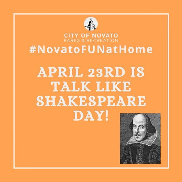 Talk Like Shakespeare novatofunathome