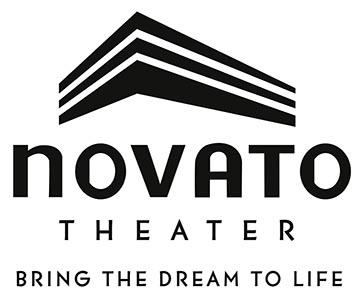 NovatoTheater logo w-tagline